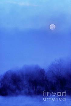 Full Frosty Moon  by Thomas R Fletcher