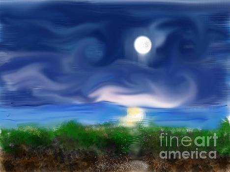 Full Moon by Diane Maley