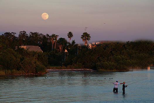 Full Moon Fishing  by Eagle Finegan