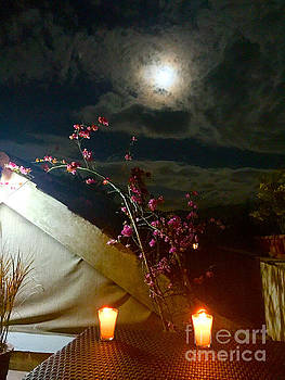 Full Moon Guatemala by Carey Chen