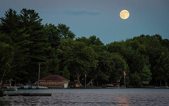 Andrew Wilson - Full Moon In Cottage Country