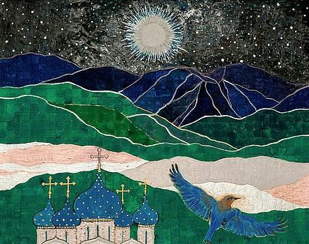 Full Moon in Scorpio by Sandy Thurlow