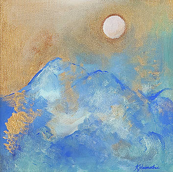 Full Moon Landscape by Kate Maconachie