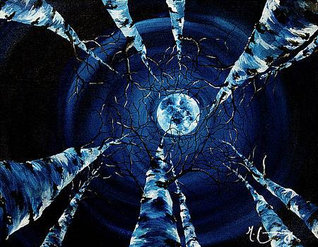 Full Moon by Melinda Cummings