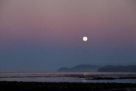 Full Moon on Shipwreck Point by Jane Eleanor Nicholas