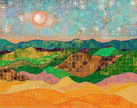 Full Moon, Summer Solstice by Sandy Thurlow