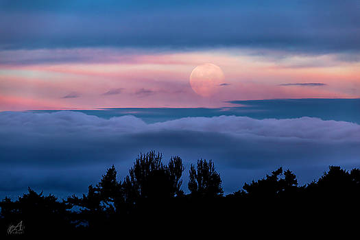 Full Moon by Thomas Ashcraft