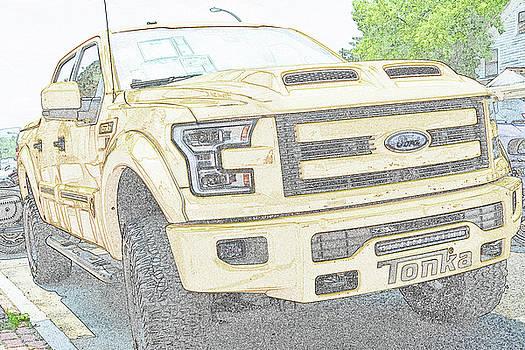 Full Sized Toy Truck by John Schneider