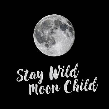 Terry DeLuco - Full Strawberry Moon Stay Wild Square