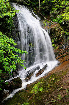 Reimar Gaertner - Fuller Falls waterfall on the Fundy Trail Parkway New Brunswick