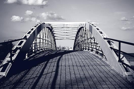 Fullerton Bridge Over Lake Shore Drive by Nate Heldman