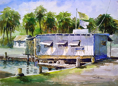 Fulton Harbor Bait House by Tina Bohlman