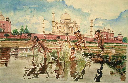 Fun behind Taj by Sreenivasa ram Makineedi