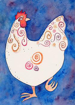 Fun Hen 1 by Sarah Rosedahl