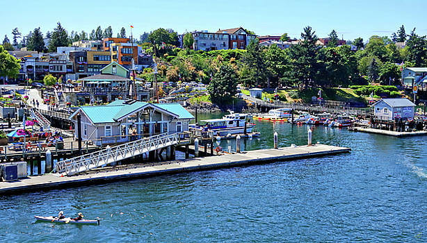 Fun in Friday Harbor by Rick Lawler