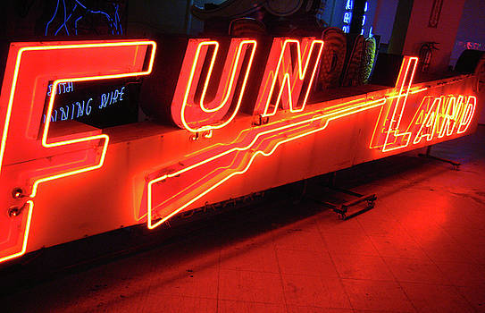 Fun Land Photograph by Uli Gonzalez