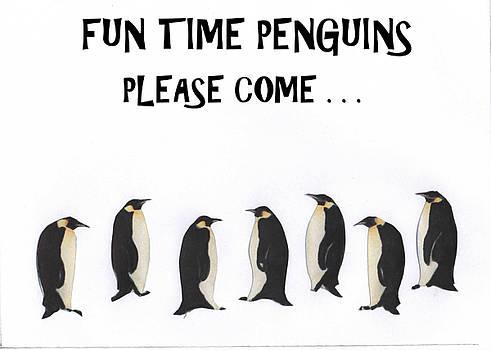 Fun Time Penguins by Al Pascucci