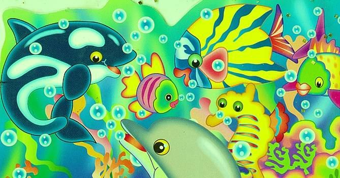 Anne-elizabeth Whiteway - Fun Under the Sea