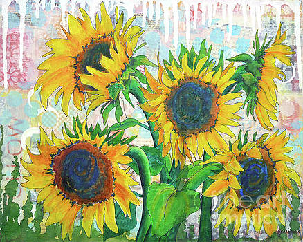 Funflowers by Lisa Crisman