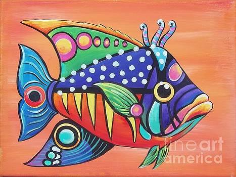 Funkey Fish by Renee Hilimire