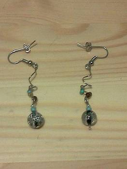 Funky and Twisted Earrings by Kendell Tubbs