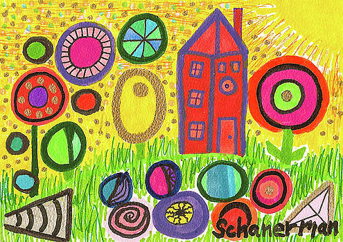 Funky Countryside by Susan Schanerman