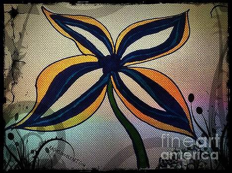 Funky Flower by Rachel Maynard