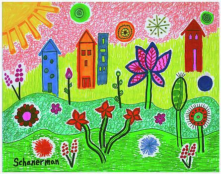 Funky Town by Susan Schanerman