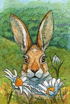 Funny bunnies - with Chamomiles 889 by Svetlana Ledneva-Schukina