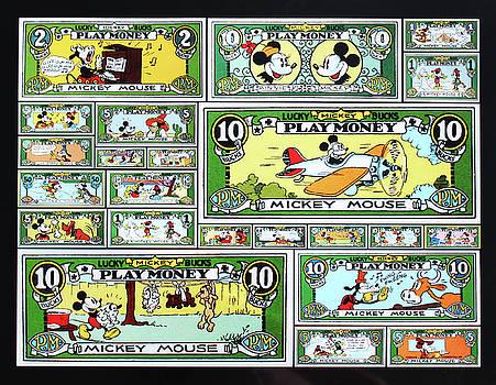 Funny Money Collage by Joseph Hawkins