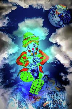 Funny world - Clown by Walter Zettl