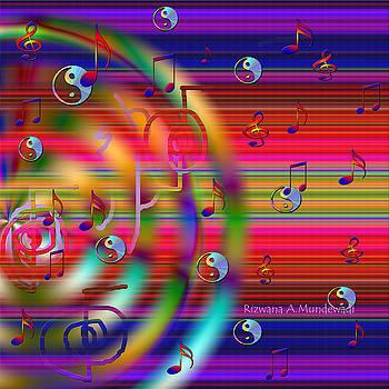 Funtastic Yin yangs by Rizwana Mundewadi