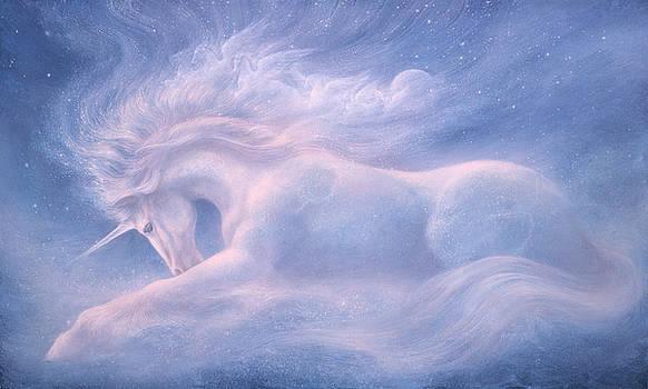 Future Dreaming Unicorn by Jack Shalatain