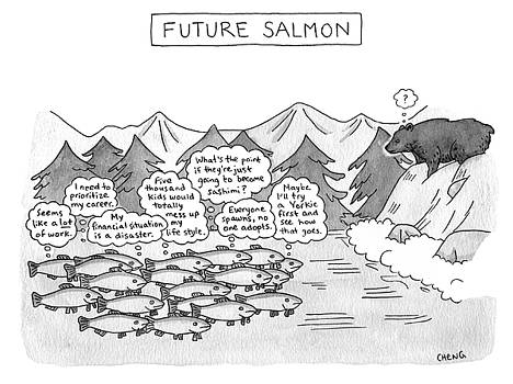 Future Salmon by Alice Cheng