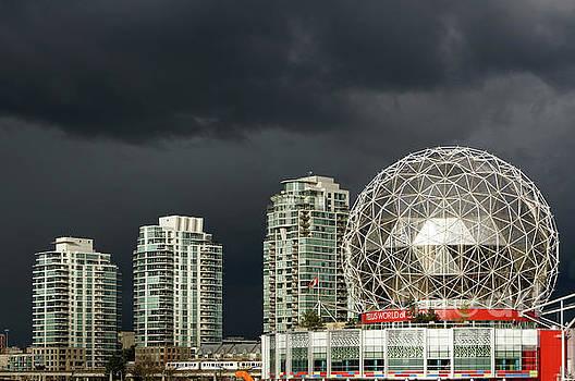 Futuristic Cityscape Vancouver by John  Mitchell