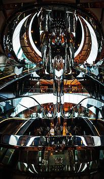 Futuristic Hub at Westfield Shopping Center in Sydney by Daniela Constantinescu