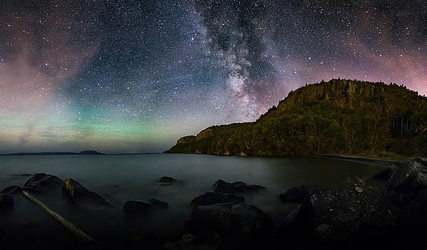 FWFN Nightscape Stacked Panorama by Jakub Sisak