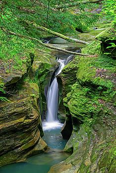 FX116A-59 Rainbow Falls by Ohio Stock Photography