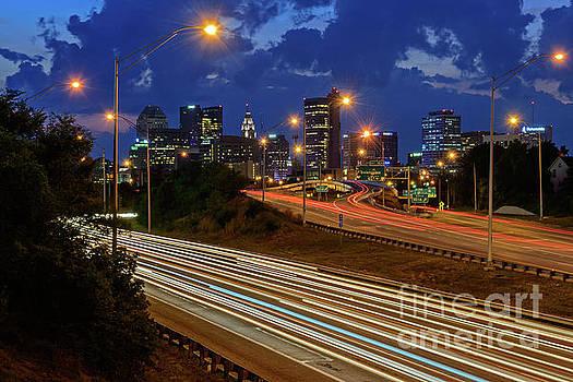 FX2L-670 Columbus Skyline by Ohio Stock Photography