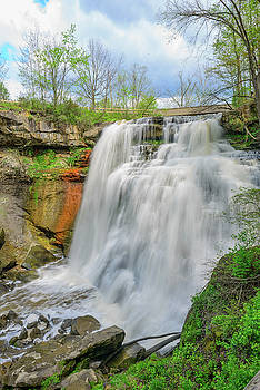FX30A-177 Brandy Wine Falls by Ohio Stock Photography