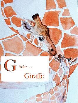G is for Giraffe by Heidi Rissmiller