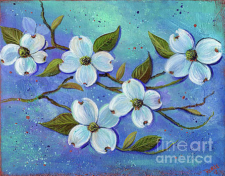 White Dogwood by Renee Lavoie
