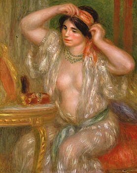 Pierre Auguste Renoir - Gabrielle at the Mirror