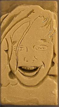 Gaetanos Portrait in soap by Anthony G Scariolo