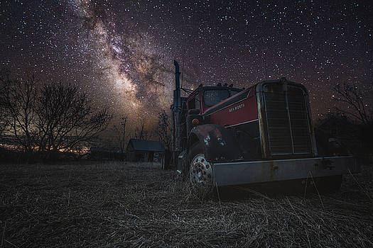 Galactic Big Rig by Aaron J Groen