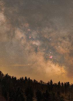 Galactic Center by Bartosz Wojczynski
