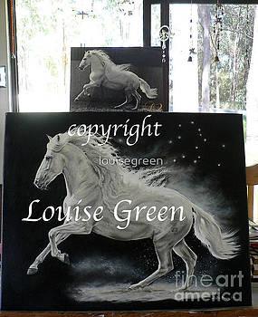 Galan - Song Of Pegasus by Louise Green