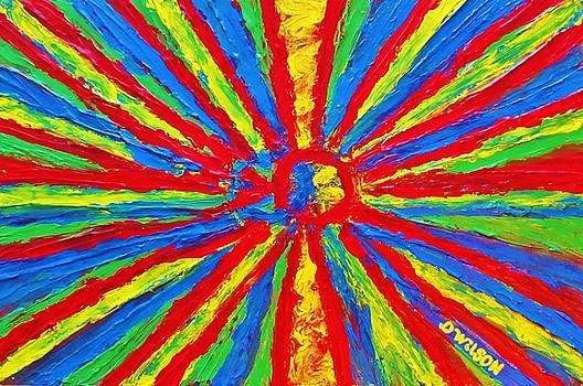Bursting Colors by Donna Wilson