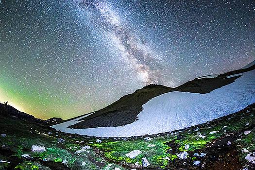 Galaxy Glacier by Cole Golphenee
