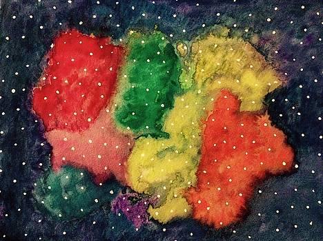 Galaxy by Rabiah  Hasan